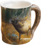 Wild Wings Sculpted Mug Master of Intimidation Elk