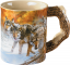 Wild Wings Sculpted Mug Body Language Wolves