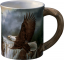 Wild Wings Sculpted Mug Majestic Bald Eagle