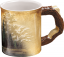 Wild Wings Sculpted Mug Misty Forest