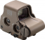 EOTech EXPS3-0 Holographic Red Dot Tan 68MOA Ring 1MOA CR123