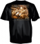 Duck Dynasty Family Calling Short Sleeve Tshirt Black Large
