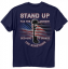 Stand Up For The Anthem Shirt Navy 2X