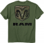 Ram Camo Mark T-Shirt Military Green Large