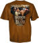 Youth Duck Dynasty S/S Tshirt Beard Brothers Texas Orange S