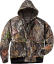 Mens Insulated Bomber Jacket Mossy Oak Country Large
