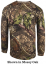 Mens Long Sleeve Pocket Tshirt Realtree Edge Large