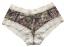 Boy Short Pantie Mossy Oak Breakup Cream Lace Trim XL