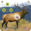 Arrowmat XL Foam Target Face Elk 34x34 in.