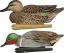 Avian X Top Flight Duck Decoy Green Wing Teal Floater 6 pk.