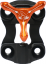Axcel XP Wedge Lock Bracket Orange/Black