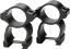 See-Thru Scope Rings Detachable Blued