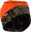 Reversible Skull Cap Camo/Blaze Realtree Edge Camo OSFM