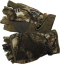 Womens Bowhunter Convertible Glove Realtree Xtra Camo Small