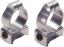 Durasight Z-2 Alloy Scope Rings Medium Silver