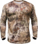 Kryptek Hyperion Long Sleeve 1/4 Zip Shirt Highlander Large
