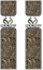 Bed Bands Accent Strips Realtree Logo w/Realtree Xtra