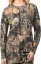 Womens Long Sleeve Tshirt Mossy Oak Country 2X