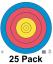"""80cm 5 Ring Waterproof Target 16.5""""x16.5"""""""