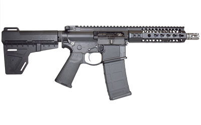 "2a Pistol 556nato 7.5"" Kmod Rail Blk"