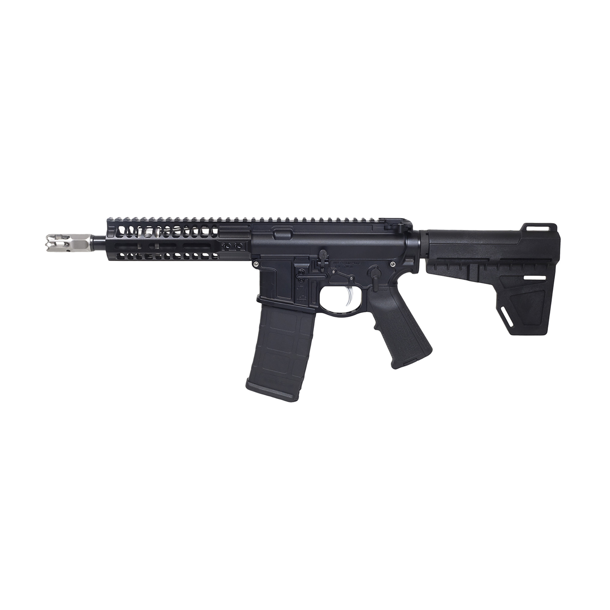 "2a Pistol 300blk 8"" M-lok Rail Blk"