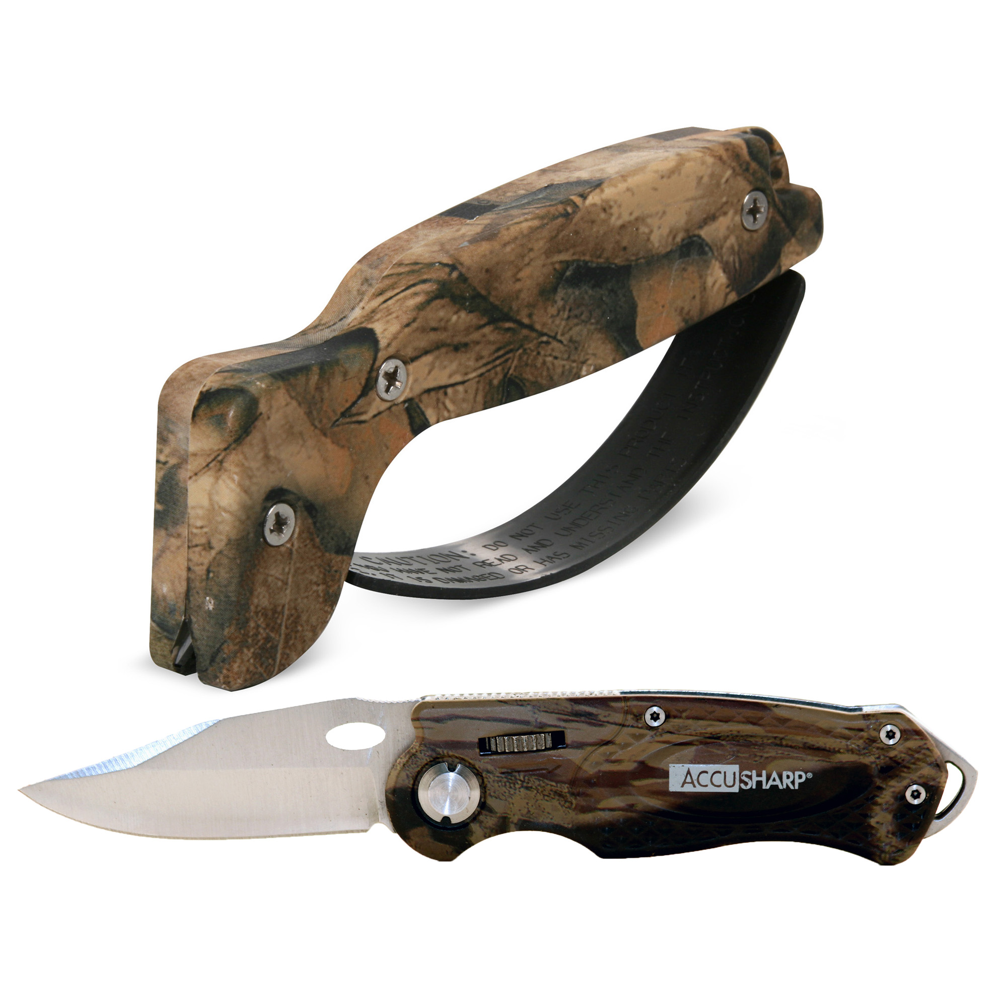 Accusharp Camo Combo Pack