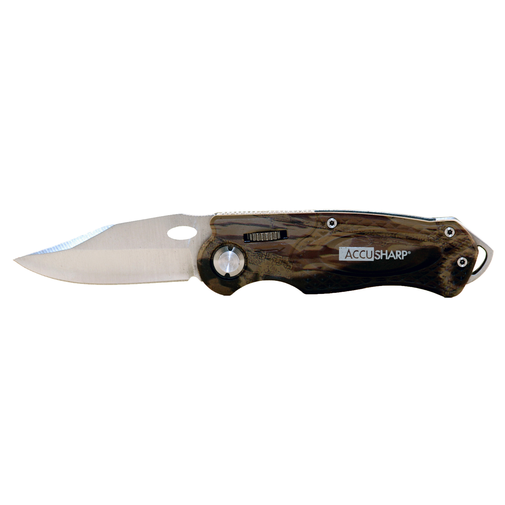 Accusharp Sport Knife Camo