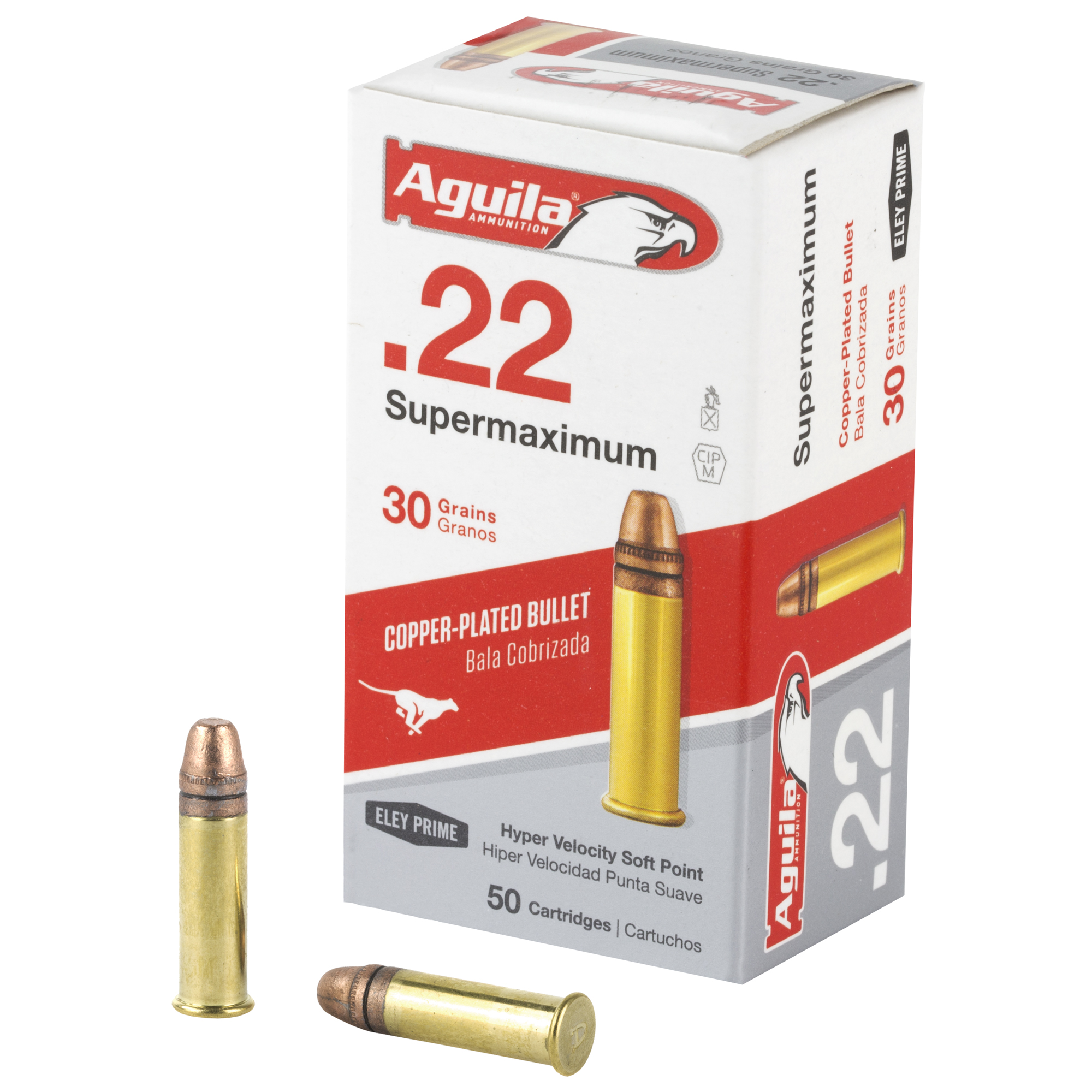 Aguila 22lr Supermax Sp 30gr 50/5000