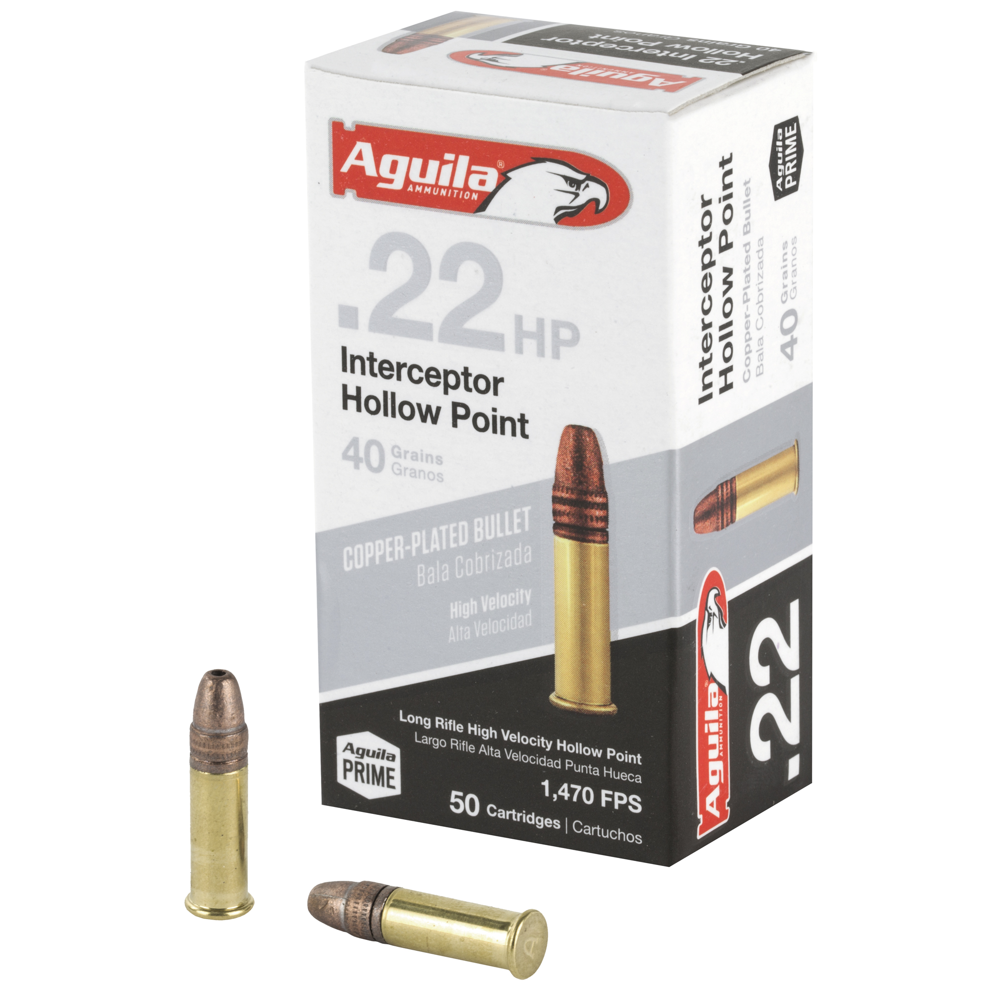 Aguila 22lr Intercpt 40gr Hp 50/5000
