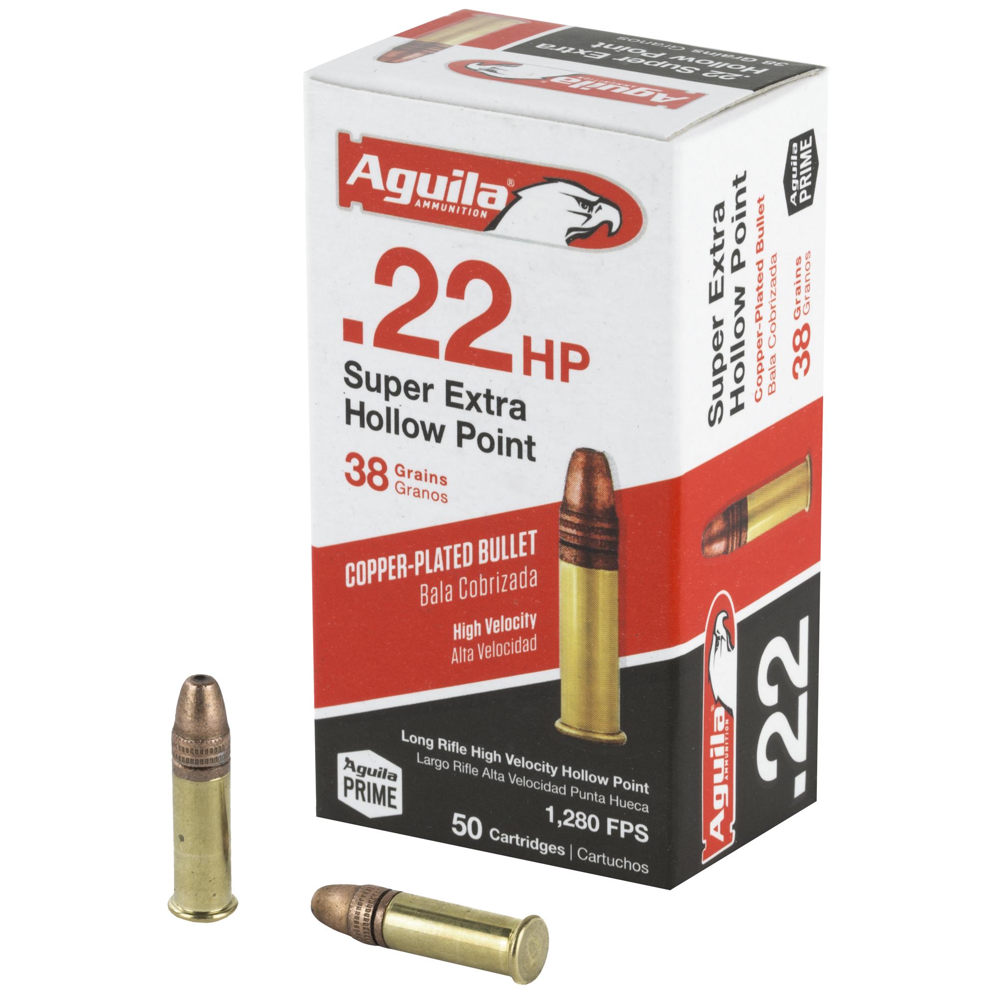 Aguila 22lr Hv 38gr Hp 50/5000