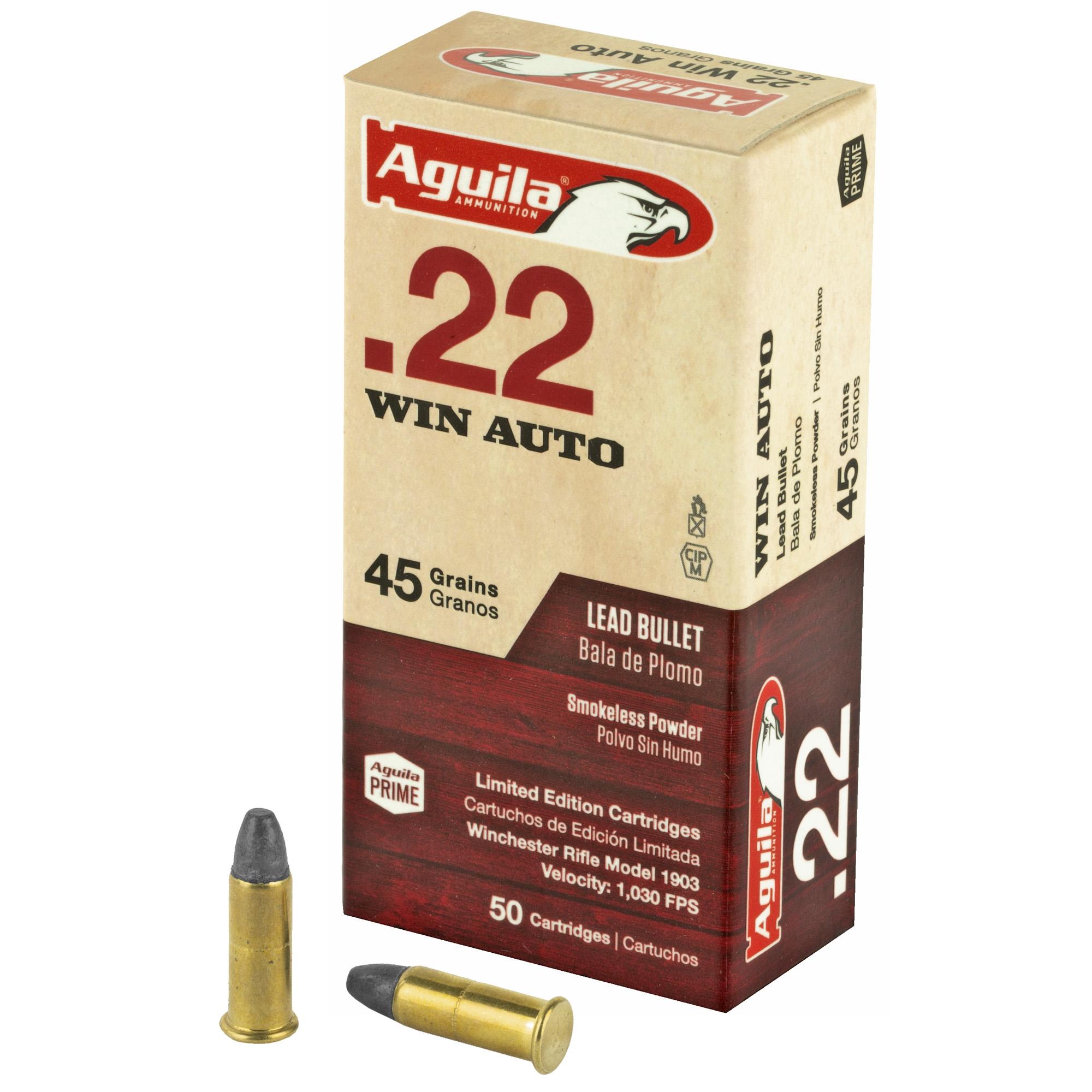 Aguila 22 Win Auto 45gr 50/5000