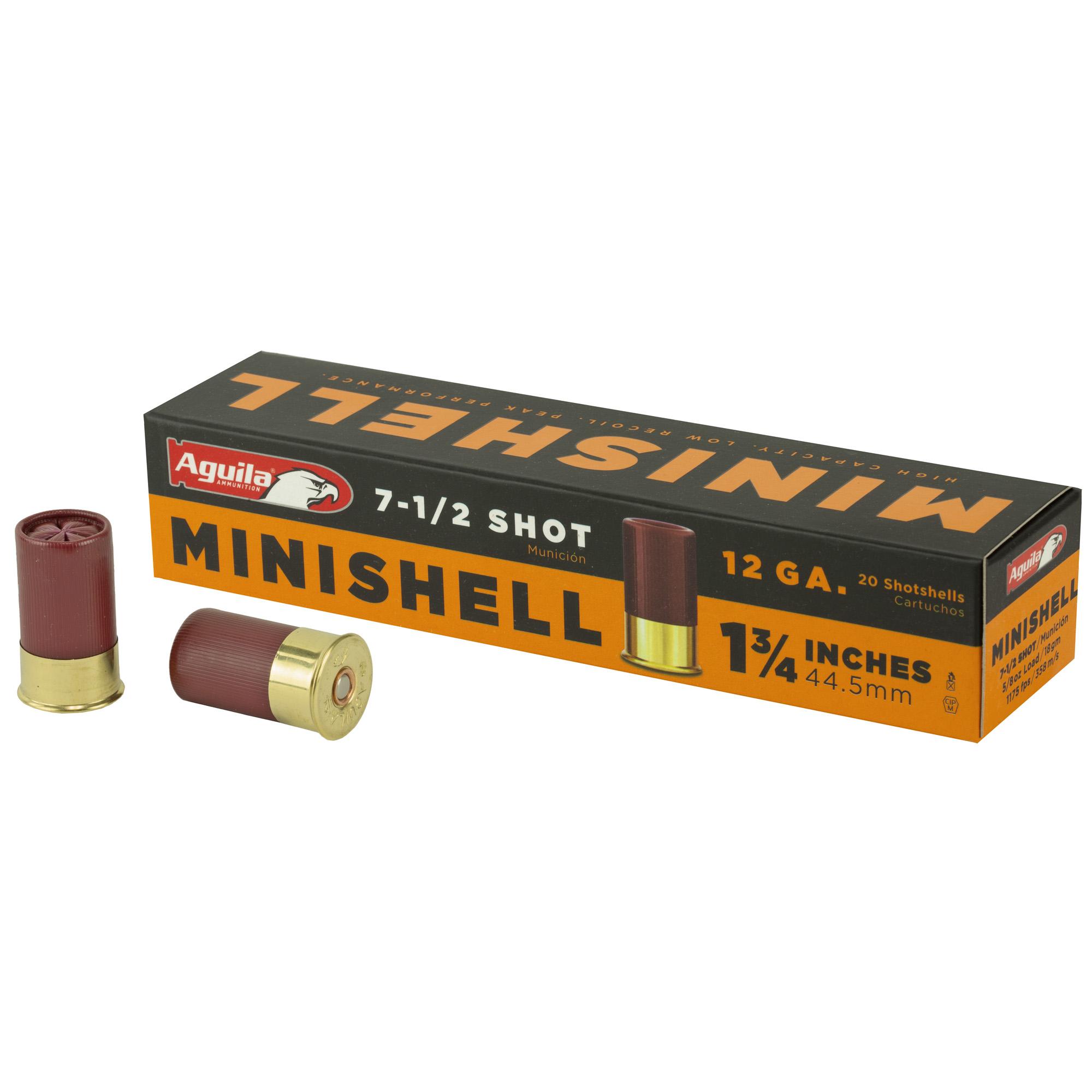 Aguila Minishell 12ga #7.5 20/500
