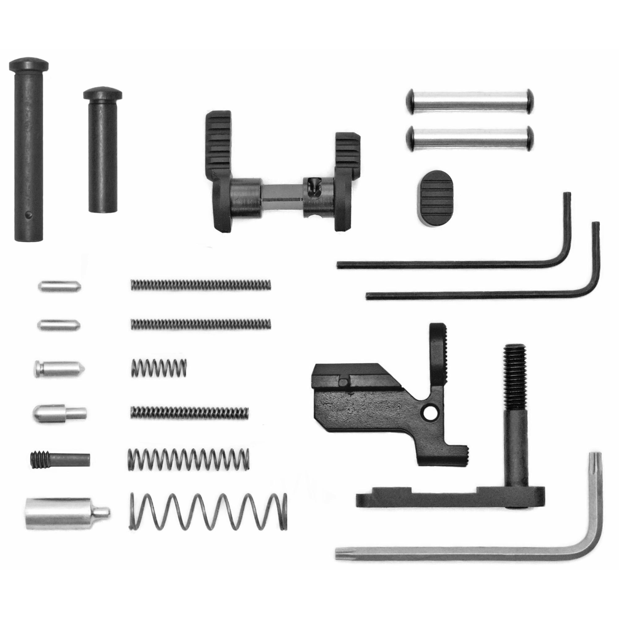 Armaspec Ar10 Gun Builders Kit Blk