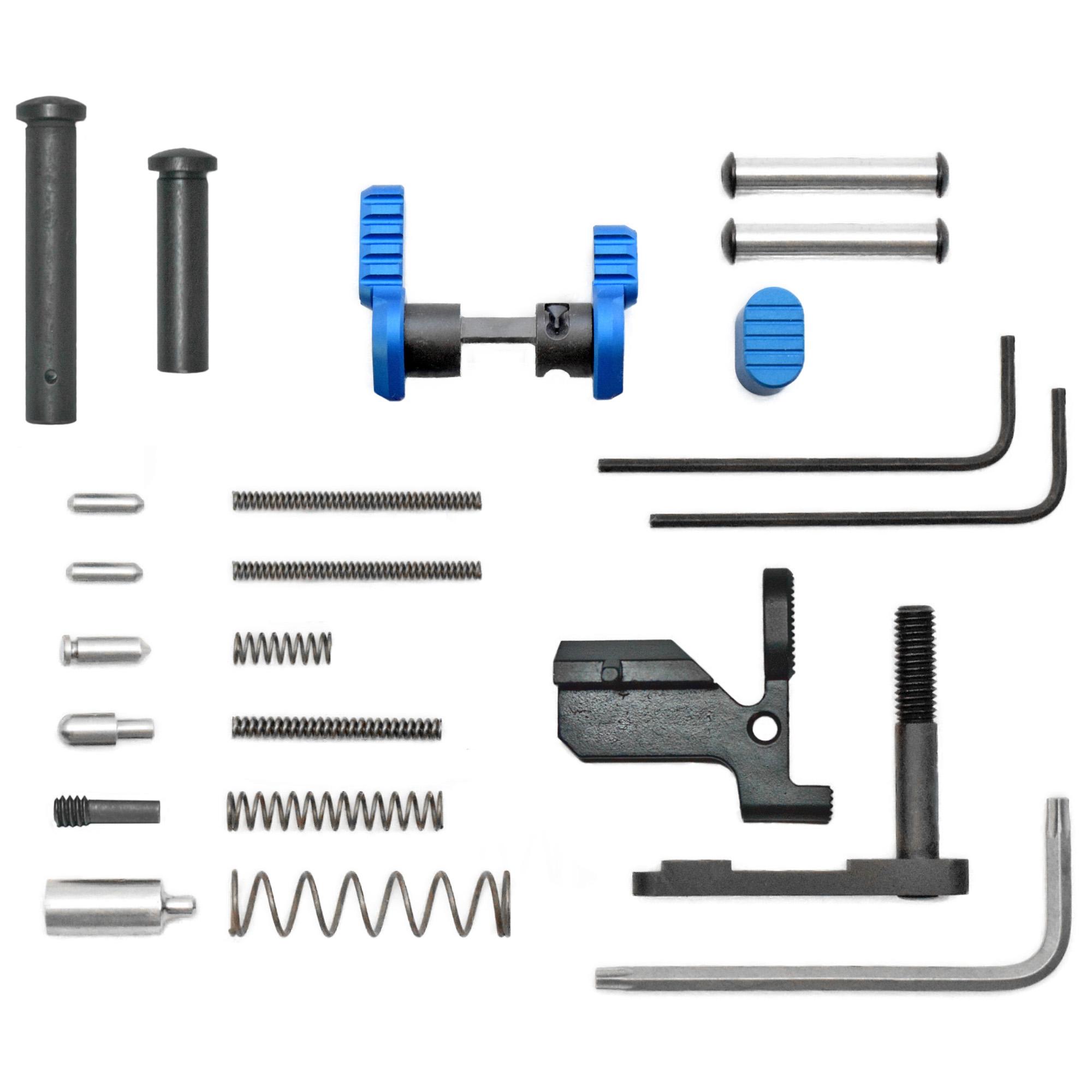Armaspec Ar10 Gun Builders Kit Blue