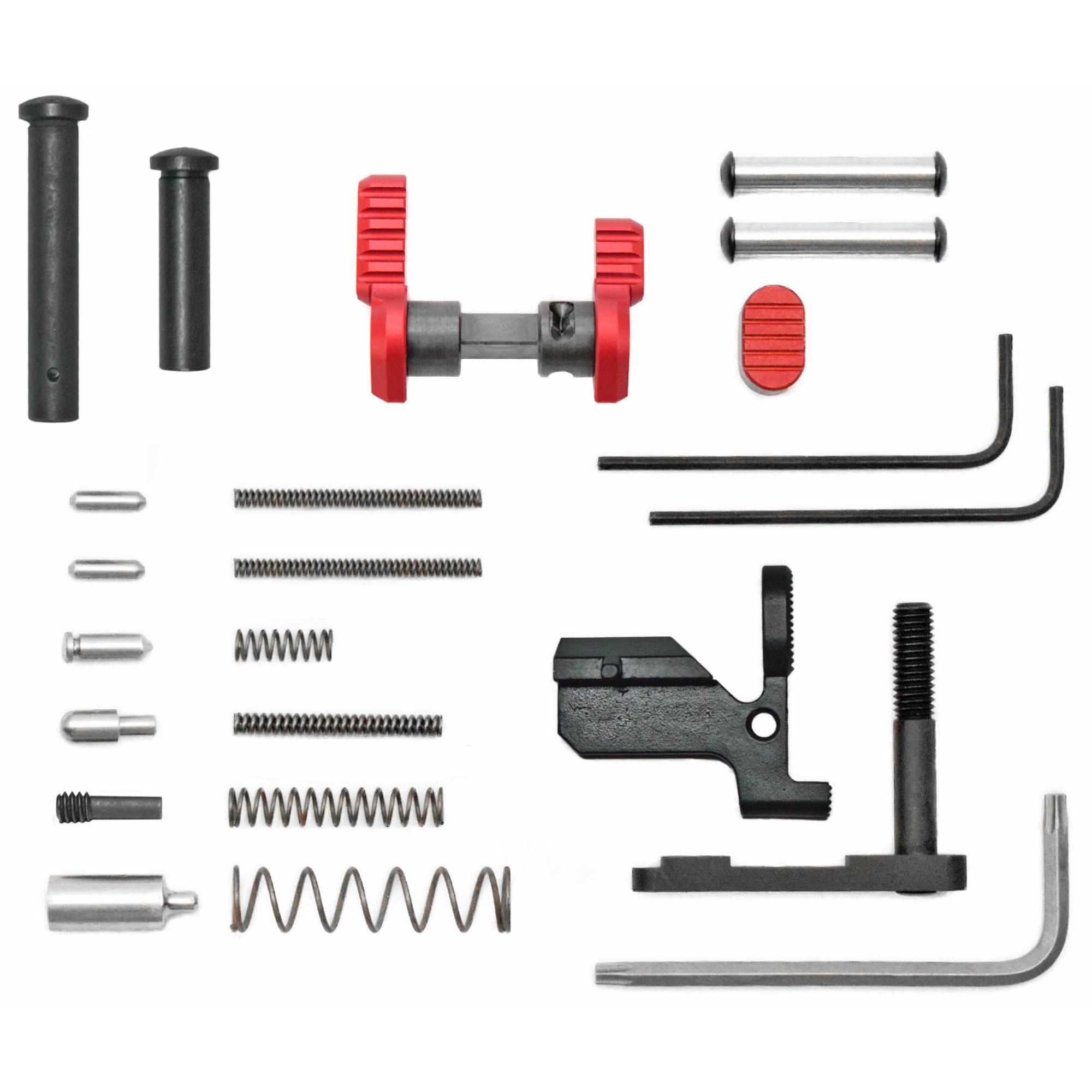 Armaspec Ar10 Gun Builders Kit Red