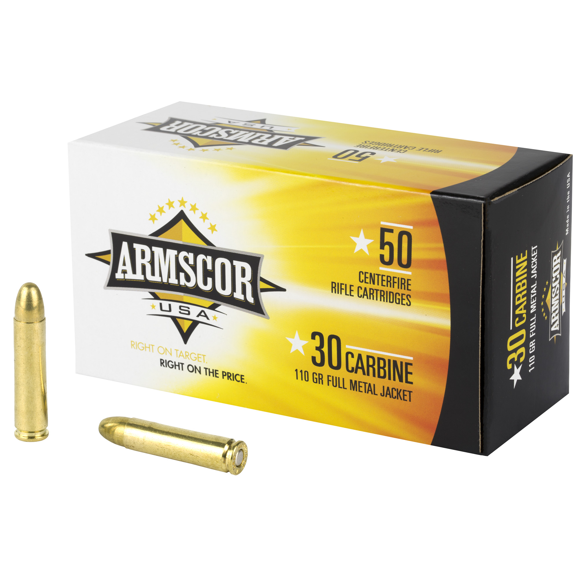 Armscor 30carb 110gr Fmj 50/1000