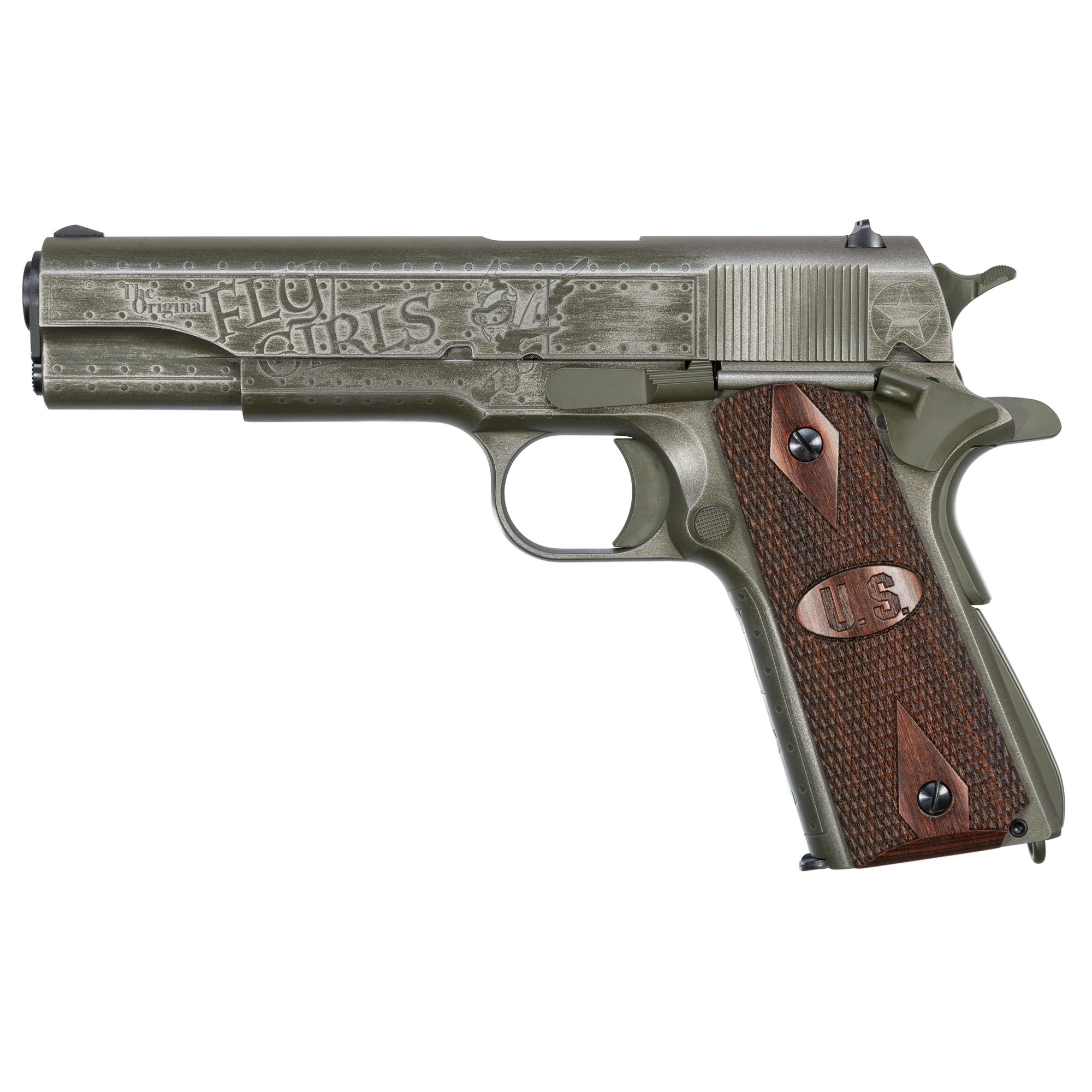 "Auto Ord Fly Girls 1911 45acp 5"" 7rd"