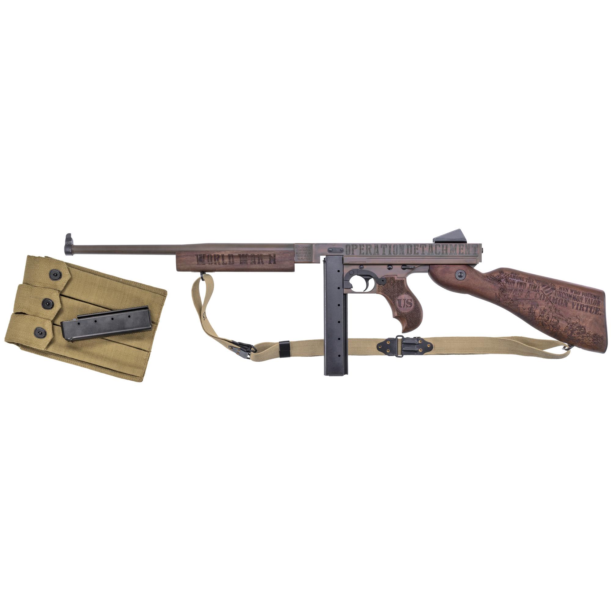 "Auto Ord Iwo Jima M1 45acp 16.5"" 20r"