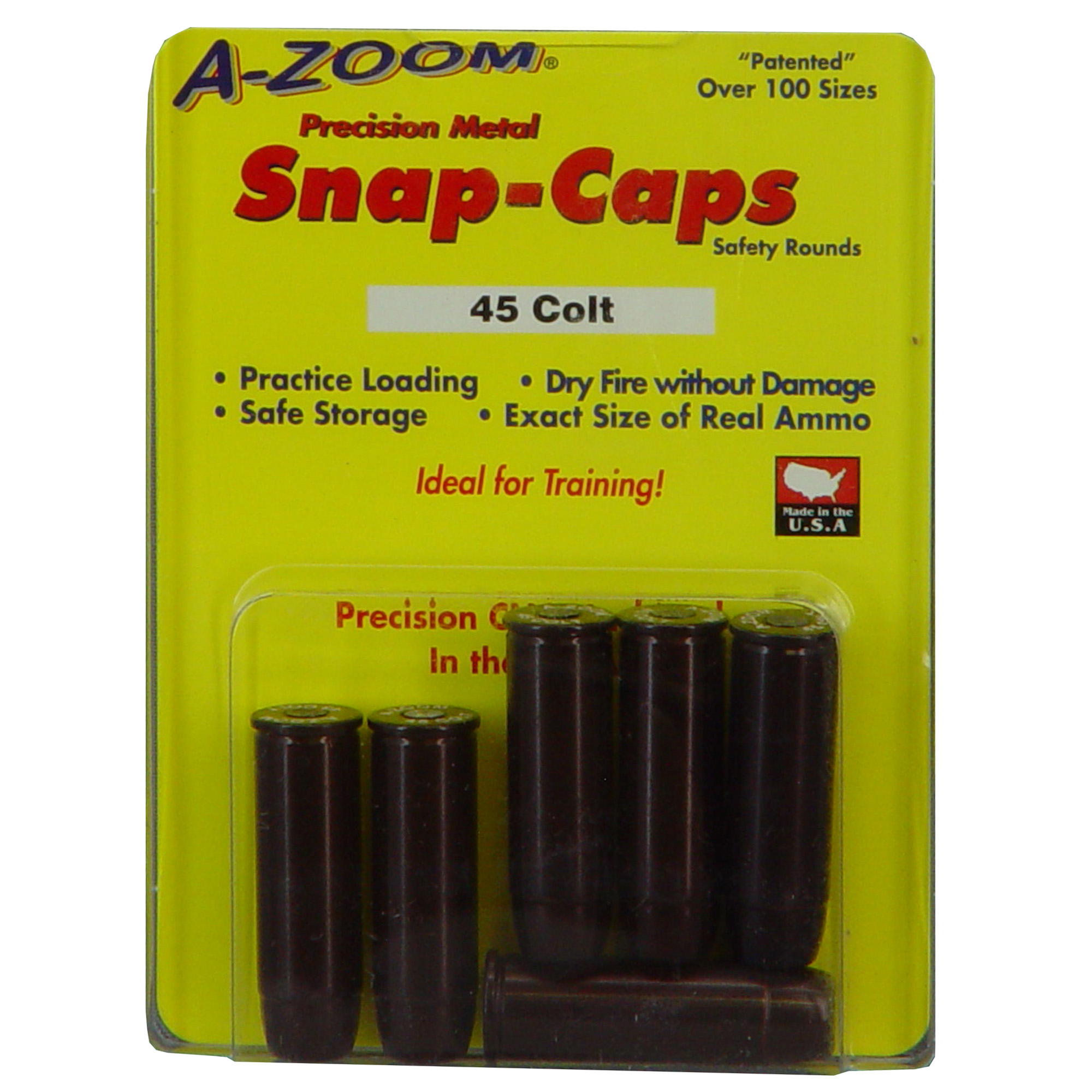 Azoom Snap Caps 45lc 6/pk