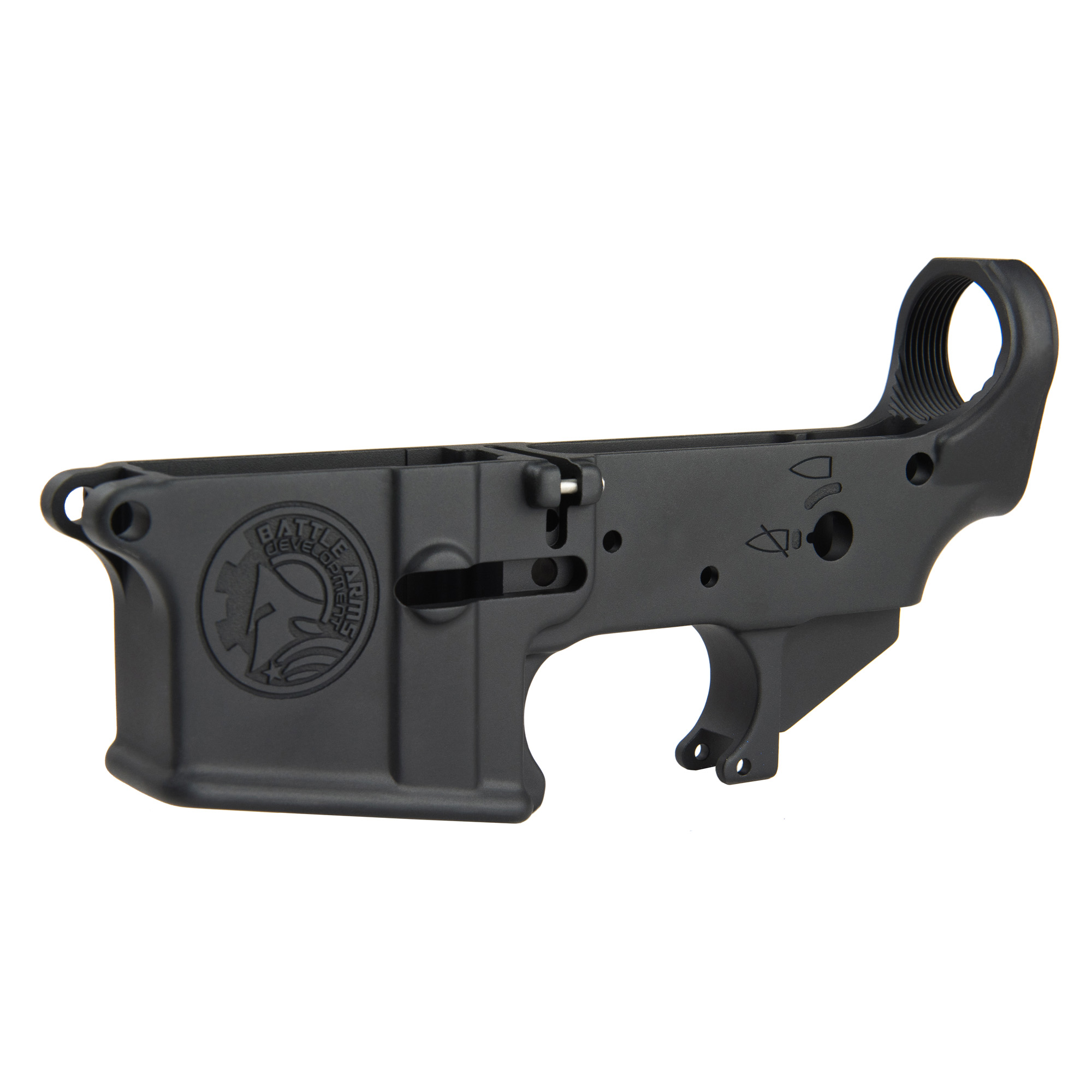 Bad Forged Lower Receiver Blk