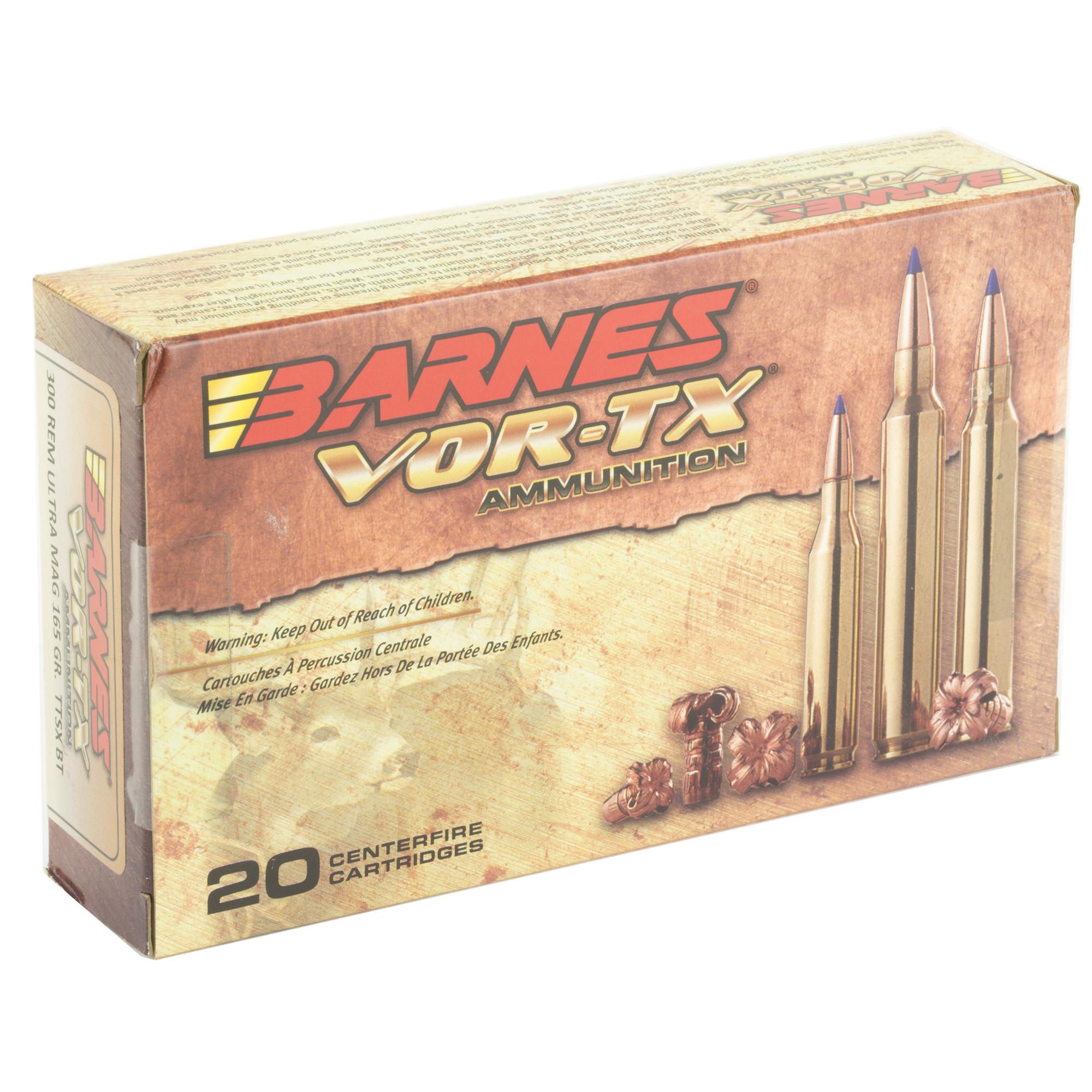 Barnes Vor-tx 300rum 165gr Ttsx 20/2