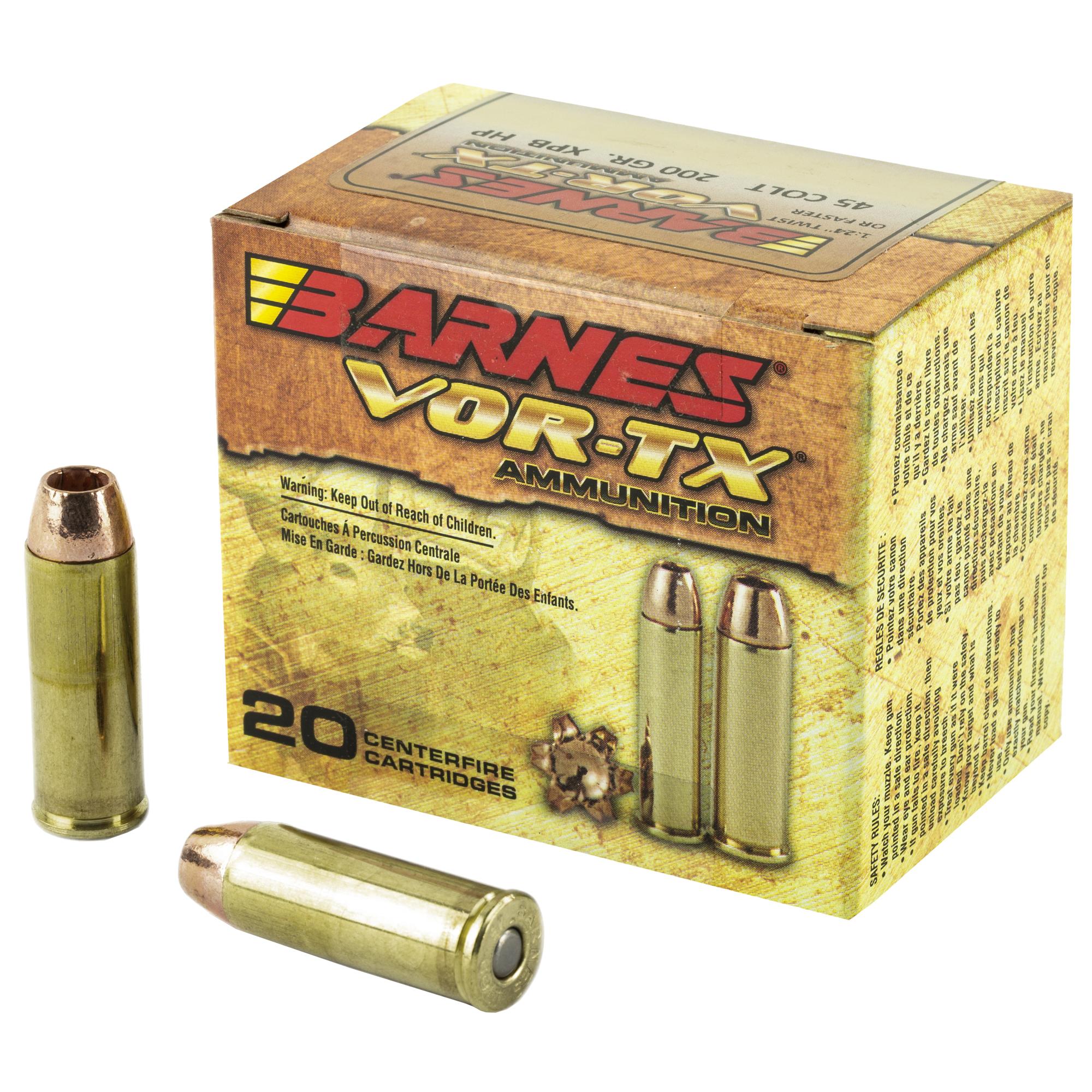 Barnes Vor-tx 45lc 200gr Xpb 20/200