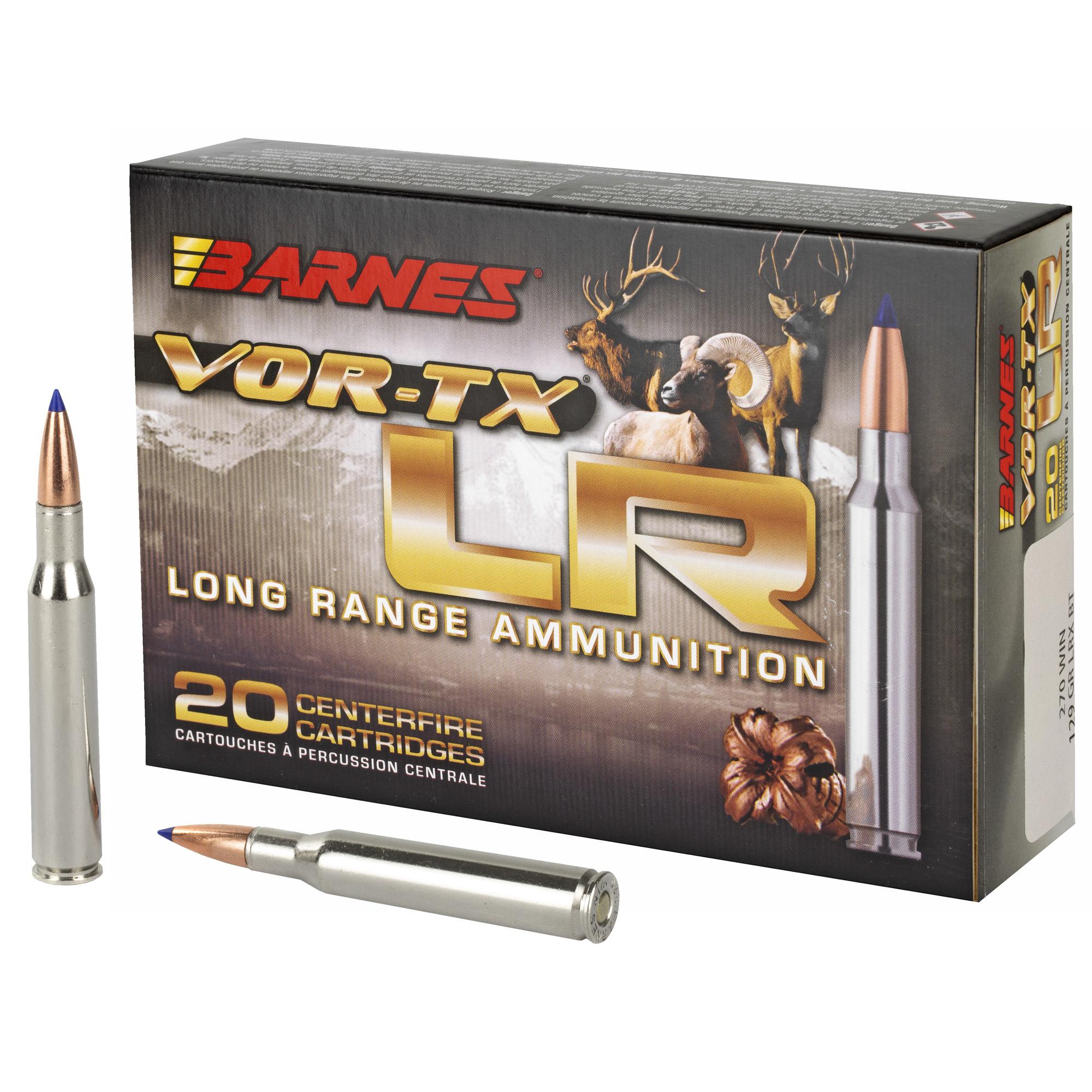 Barnes Vor-tx 270win Lr 129gr 20/200