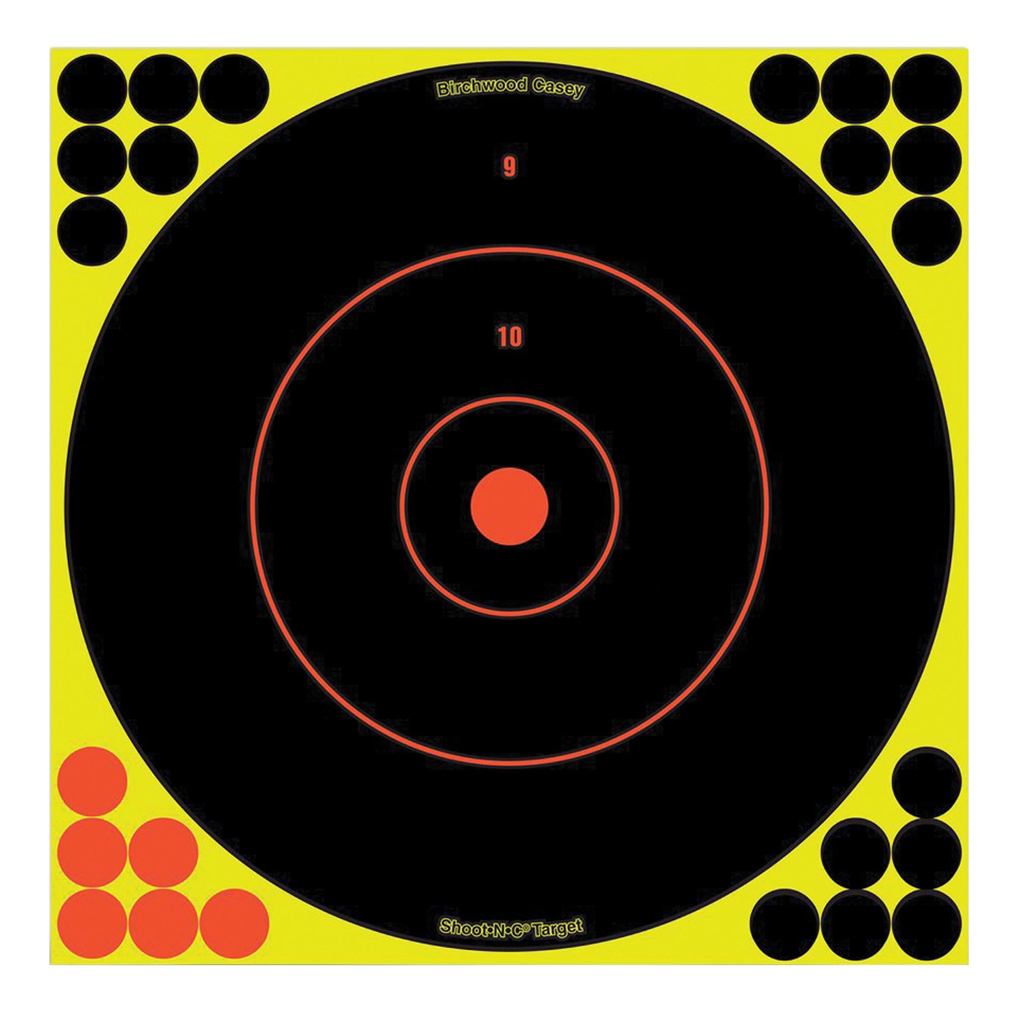 "B/c Sht-n-c Rnd Bullseye Tgt 5-12"""