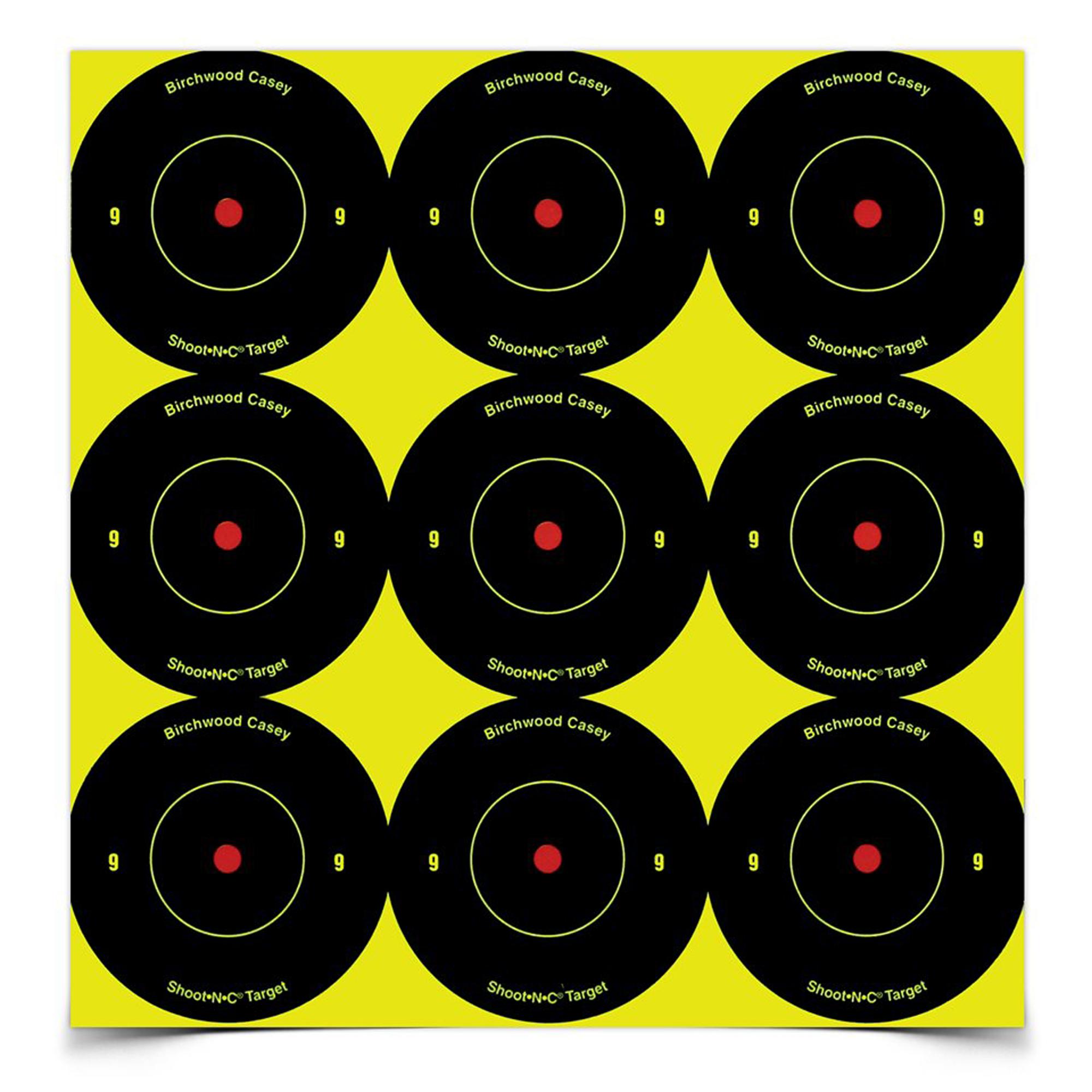 "B/c Sht-n-c Rnd Bullseye Tgt 108-2"""