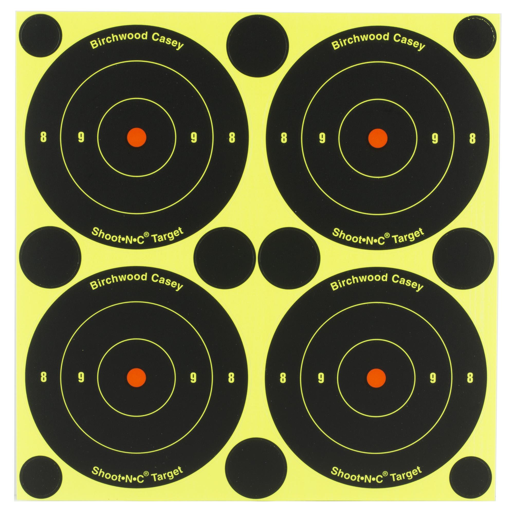 "B/c Sht-n-c Rnd Bullseye Tgt 240-3"""