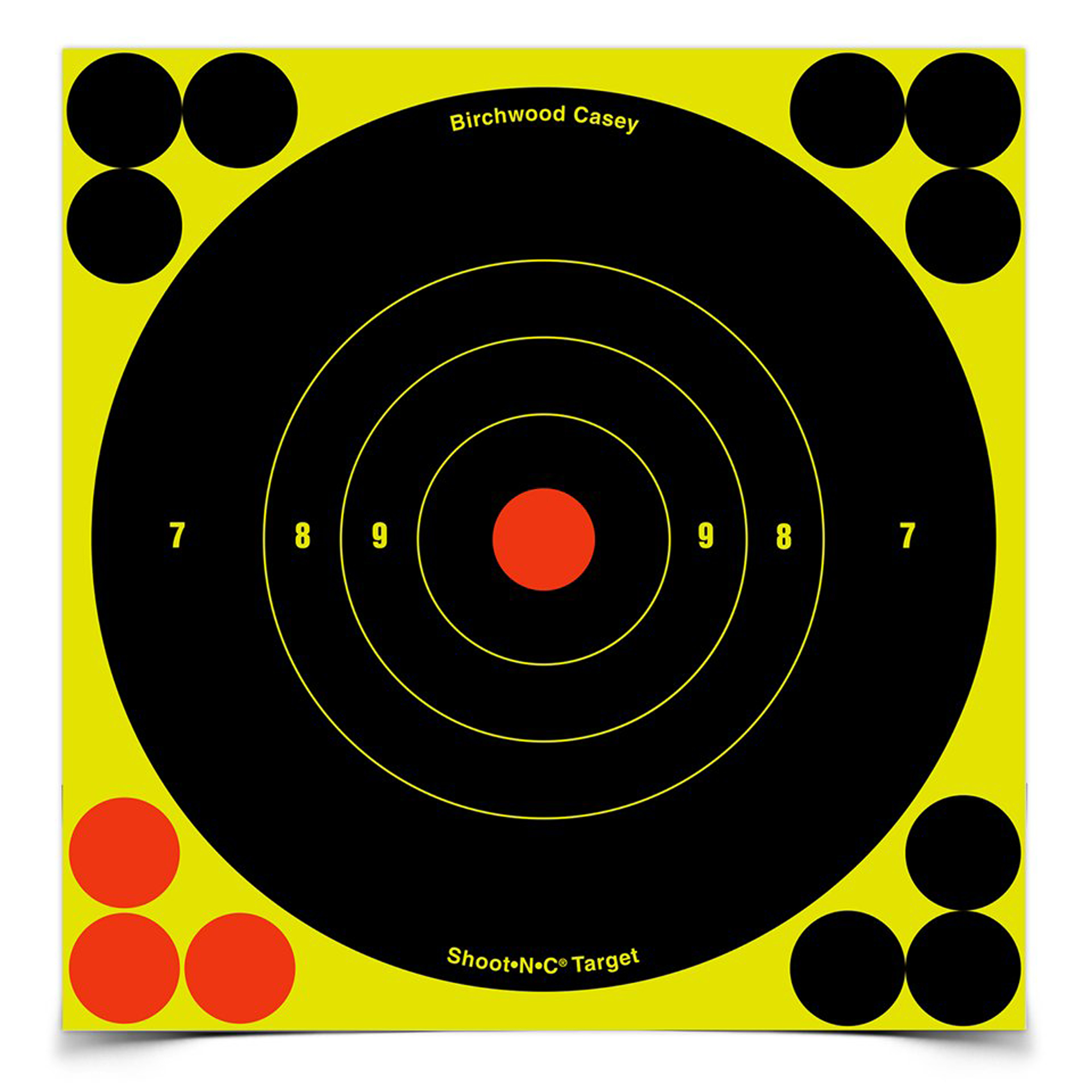 "B/c Sht-n-c Rnd Bullseye Tgt 60-6"""