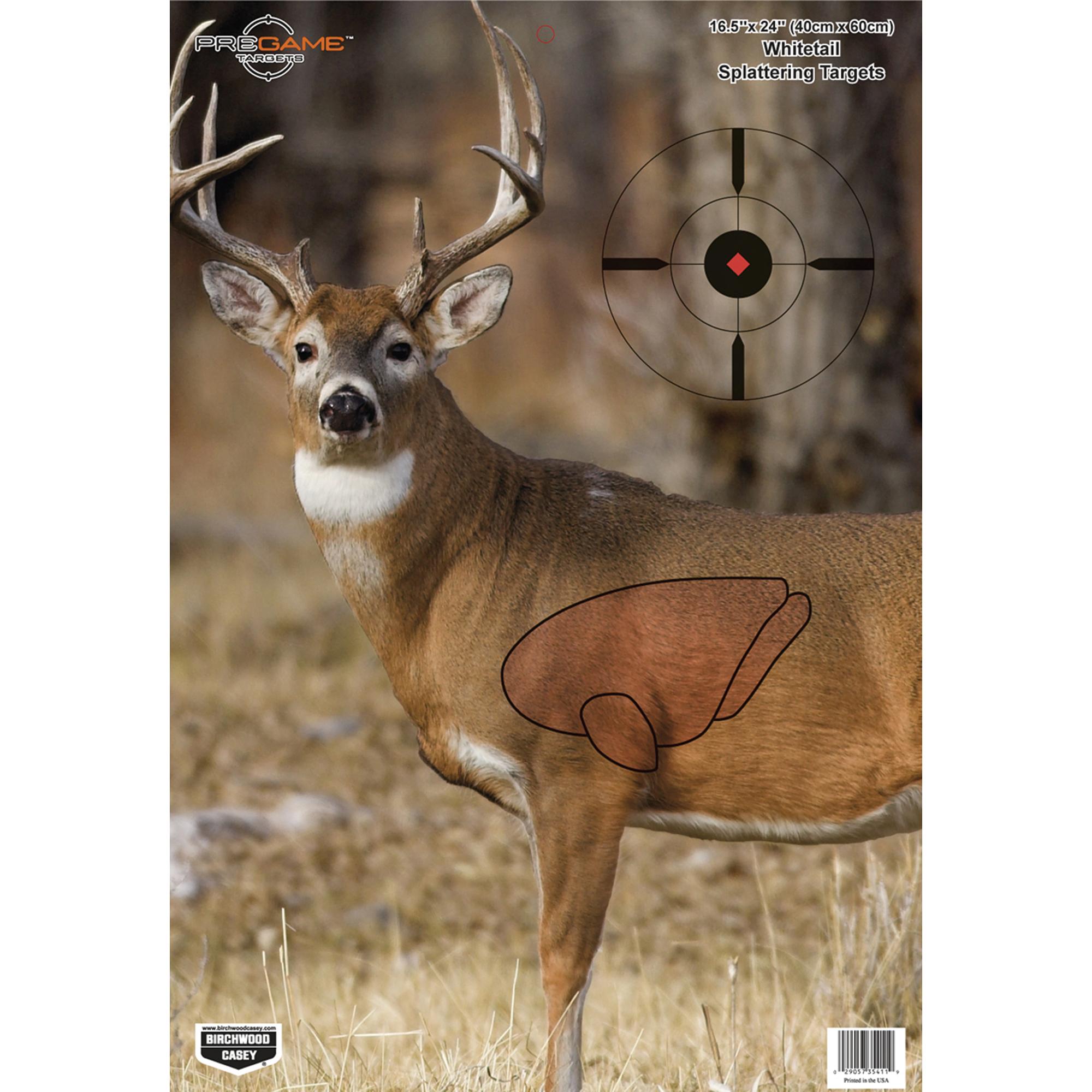 B/c Pregame Deer Tgt 3-16.5x24
