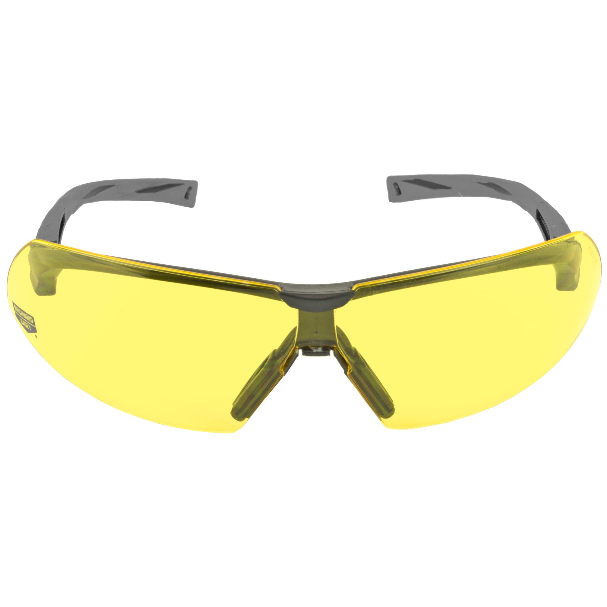 B/c Skyte Shooting Glasses Yellow