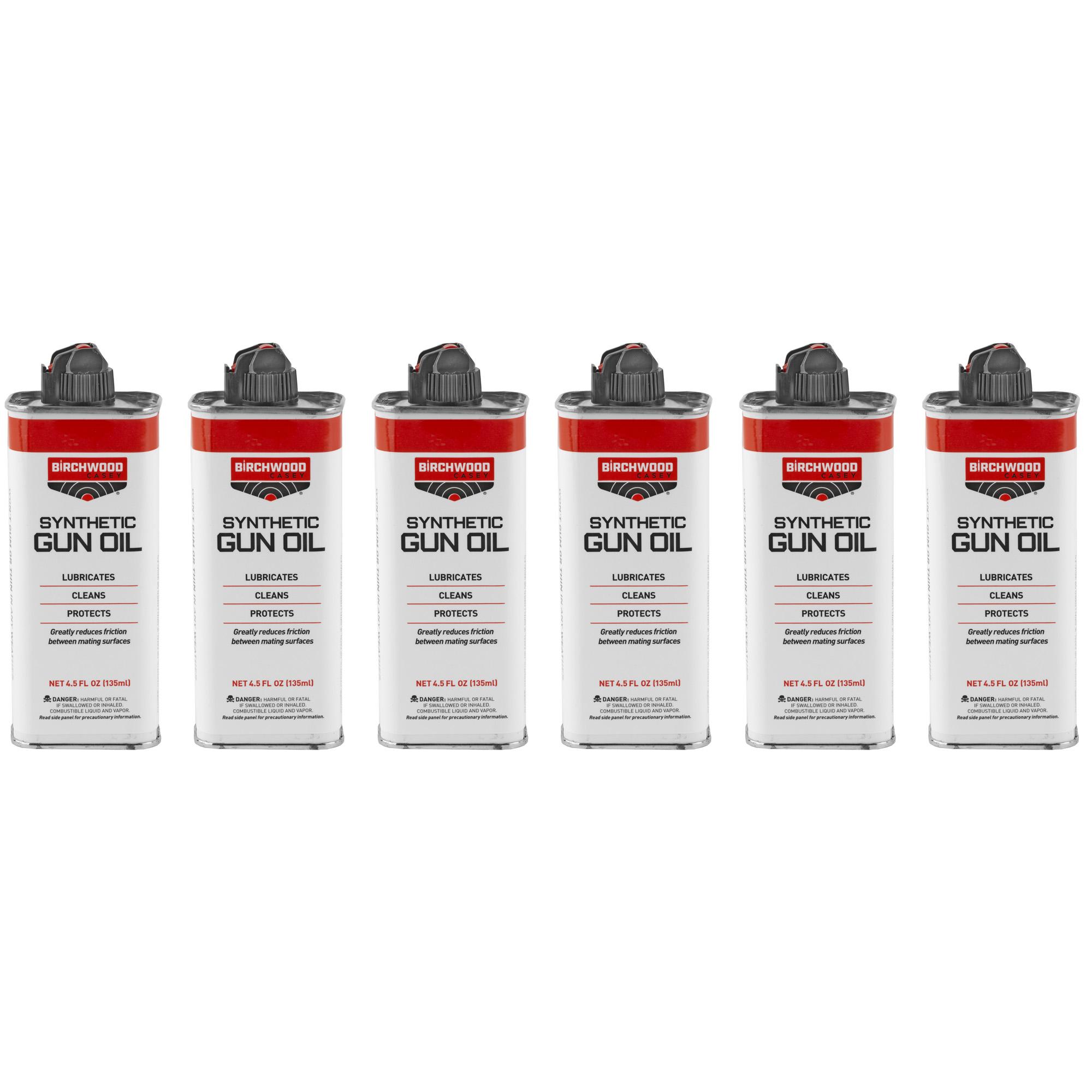B/c Synthetic Gun Oil 4.5oz 6pk